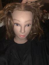 Marianna Miss Suzie-Kin #14901 Cosmetology Mannequin Head Brown Human Hair