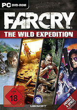Far Cry-the wild Expedition pour pc | contient 4 jeux | article neuf | allemand!