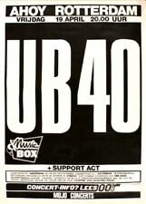 Ub40 1985 Tour Rotterdam Concert Poster