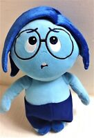 """""""Sadness"""" from Inside Out 10"""" Disney Store Pixar Soft Toy Plush Excellent"""