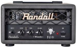 New-In-Box Gray Randall Diavlo RD1H 1 Watt Amp Head - Fortin Designed
