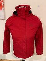 Mens Red Helly Hansen Helly-Tech Protection Hooded Jacket - Size Small (S) J54