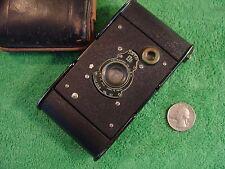 Vintage Vest Pocket Kodak Autographic Camera With Leather Case Film No.A-127