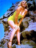 Marilyn Monroe 1952 Vintage Pinup Litho Joseph Heppner Promo Photo Publicity COA
