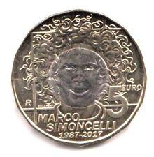 2017 San Marino 5 Euro Commemorativo Marco Simoncelli FDC