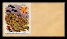 UNSERVICED PATRIOTIC CACHET HUMOR SEALED US COVER