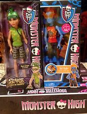 Monster High Lot of 2 Boy dolls Holt Hyde & Deuce Gorgon Scaris VHTF*NIB