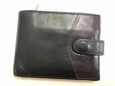 River Island Black Leather Bifold Wallet