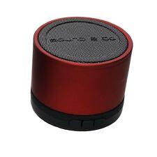 Sound2Go ColourBass Rot Lautsprecher Speaker Musik Box Micro SD Kartenslot AUX