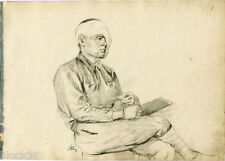 INJURED MILITARY SERVICE MAN drawing by Russian artist S.Pichugin