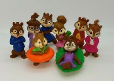 McDonald's 2011 Alvin And The Chipmunks Chipettes Chipwreaked Toys Lot