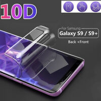 For Samsung S9 S8 S10 Plus A6 2018 10D Hydrogel Film Full Screen Protect Cover
