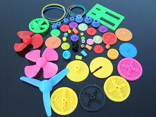 Plastic Gears Belt Pulley Shaft Sleeve Main Shaft Gears For Robot Model DIY Kits