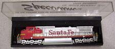 Bachmann Spectrum 86058 GE Dash Diesel Santa Fe #802 N Scale Loco. w/Old Cplrs