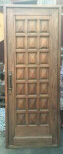 Antique single entry door