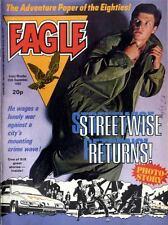 EAGLE COMIC 25/9/1982 SGT STREETWISE, 7.62MM L1A1 RIFLE, MAGNUS PYKE