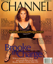 Channel 9/99,Brooke Shields,September 1999,NEW