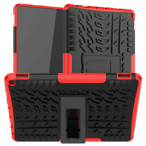 For Amazon Kindle Fire HD 10/10 Plus 2021 Heavy Duty Rugged Kickstand Case Cover