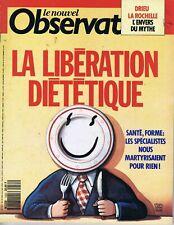 Le nouvel observateur n°1434 30/04/1992 Pédophilie Thaïlande Drieu La Rochelle