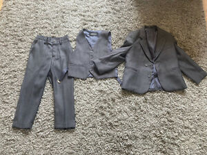 Three Piece Suit for Age 3 Year Old, Wedding Pageboy Outfit