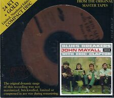 Mayall, John BLUES BREAKERS WITH ERIC CLAPTON 24 Ct Gold A. F. Nouveau neuf dans sa boîte SEALED