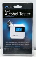 High Sensitive Breathalyzer Accurate Alcohol White Tester Home Digital Detector