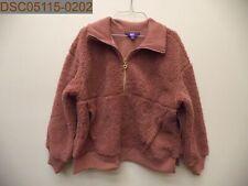NWT Joy Lab Women's Plush Coat, Burlwood, XL, X-Large, 309061108, 493090611087