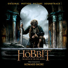 The Hobbit The Battle Of The Five Armies Soundtrack 2 CD Set Sealed ! New !