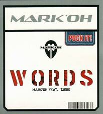 MARK OH - Words Pock-it 3-inch CDS 2TR 2003 TRANCE / HOUSE / VERY RARE!