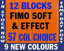 FIMO SOFT Polymer Modelling Clay 12 pcs 672g PICK COLOR