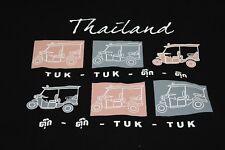 Thailand Tuk-Tuk black XL T shirt