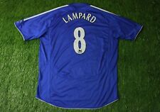 Chelsea LONDON # 8 LAMPARD 2006 2008 FOOTBALL SHIRT JERSEY HOME ADIDAS ORIGINAL