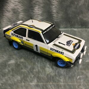 Sun-Star 1:18 Ford Escort Mk2 RS1800 Acropolis Rally 1st 1979 Waldegard #1 4441
