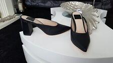 NEW Miss Selfridge size 4 black heeled shoes