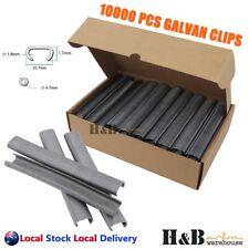 10000Pcs C24 24mm GALVAN Zinc Aluminium Hog Ring Gun Pneumatic Air C Clips