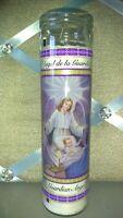 Guardian angel prayer candle Catholic church