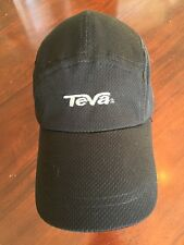 37b7977c0 TEVA Black Adjustable Baseball Cap Hat. TL7