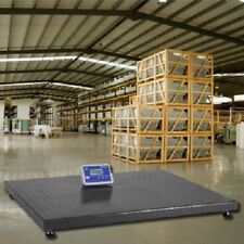 """10000 Lbs Industrial Floor Scale  5' X 5' 1 Lb Accuracy Free Shipping 60"""" X 60"""""""
