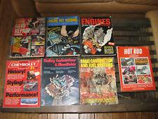 Vintage Hot Rod Manuals- Vintage Petersen Hot Rod Magazines- Holley Carburetors