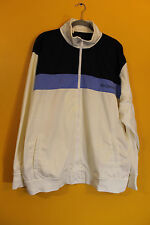 New Rocawear embroidered logo zipper up track jacket white men's 4X Big&Tall