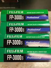 1 Pack of Fujifilm Fuji FP-3000B Instant Black & White Pack Film Polaroid 11/14