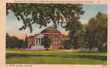 Postcard University Louisville Campus + Admin Bldg Louisville KY