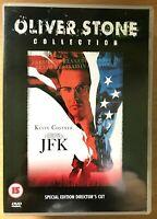 Jfk DVD 1991 Oliver Stone Classico ~2-Disc Del Regista Taglio Con Kevin Costner