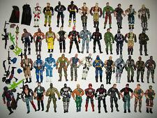 GI Joe Action Figure Huge Lot 1997-2010 44 Figures + Accessories