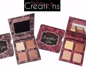 Highlight Palette - Beauty Creations Angel Glow / Scandalous Glow Highlighters