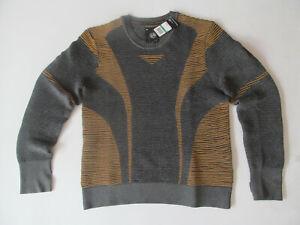 Under Armour IntelliKnit Phantom 1354397 004 man grey Sweatshirt L BrandNew $100
