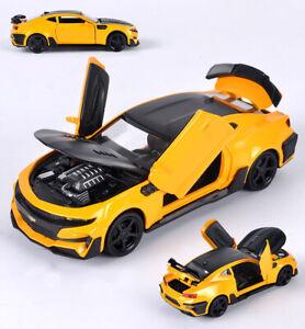 Chevrolet Camaro 1:32 Alloy Diescast Model Car Toy Sound&Light Kids Gift Toy