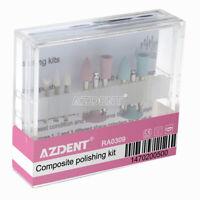 USA Dental Composite Polishing kit Ceramic/Rubber RA0309 9pc/kit For Handpiece