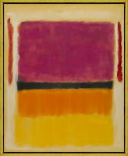 Framed Mark Rothko Untitled6 Giclee Canvas Print Paintings Poster Reproduction
