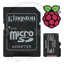 Kingston Canvas Select Plus 32Go UHS-I Class 10 MicroSDHC Carte Mémoire avec SD Adaptateur (SDCS2/32GB)